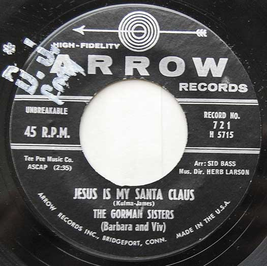Arrow No. 721 record label