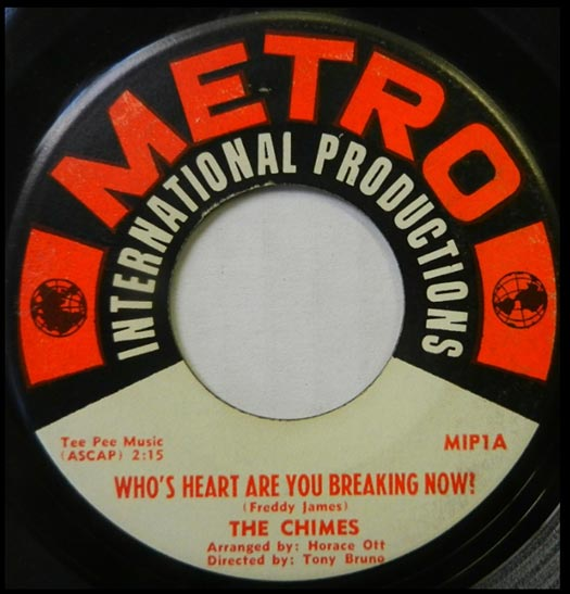 Metro MIP1A record label, The Chimes